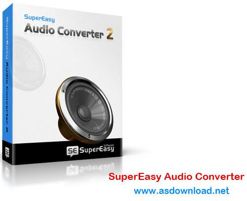 SuperEasy Audio Converter 3.0.5180+ crack - نرم افزار تغییر فرمت فایل های صوتی