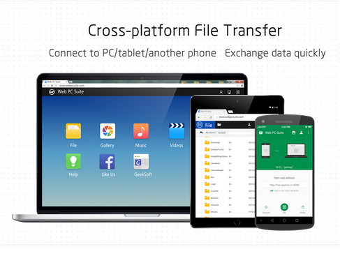 1-Web PC Suite - File Transfer