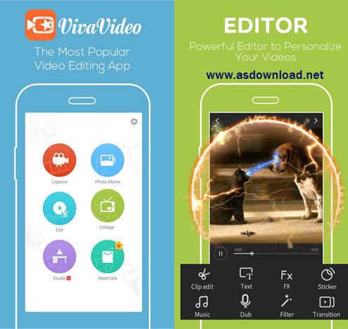 VivaVideo Video Editor