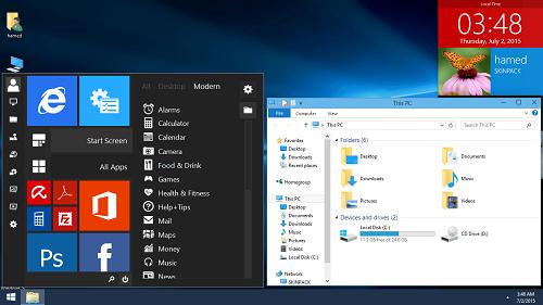 دانلود اسکین پک ویندوز 10 - Windows 10 SkinPack