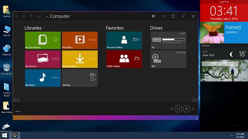 3-Windows 10 Skin Pack
