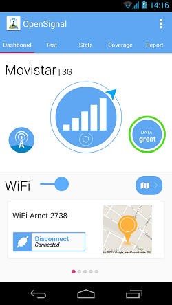 3G 4G WiFi Maps & Speed Test Android