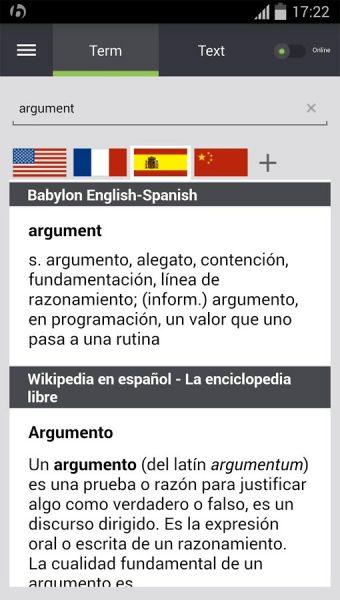 دانلود مترجم بابیلون برای اندروید - Babylon Translator