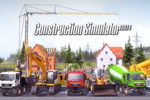 دانلود بازی ماشین های ساختما سازی برای اندروید- Construction simulator 2014 v1.12+ cache