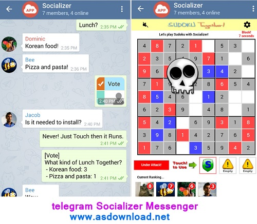 telegram Socializer Messenger