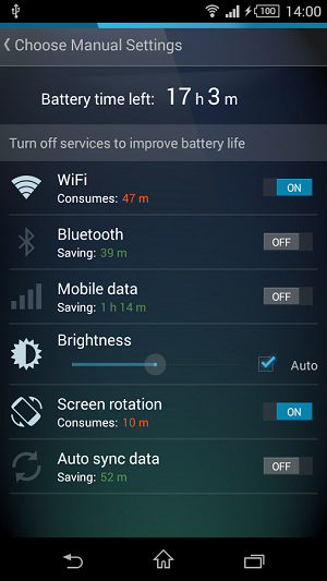 3-AVG Cleaner for Xperia