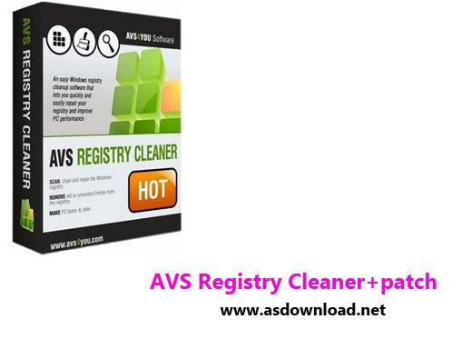 نرم افزار پاکسازی رجیستری -AVS Registry Cleaner 3.0.2.271