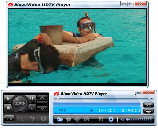 BlazeVideo HDTV Player Professional 6.6.0.4- نرم افزار پخش شبکه های تلویزیونی بر روی کامپیوتر