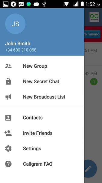 Callgram - Telegram free calls