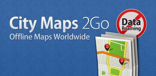 اپلیکیشن نقشه آفلاین کشورها برای اندروید -  City Maps 2Go Pro Offline v3.16