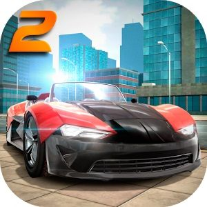 Extreme Car Driving Simulator 2 - بازی مسابقه ماشین سواری سرعت برای اندروید