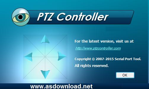 PTZ Controller 3.2 Build 941crack - نرم افزار کنترل دوربین های مداربسته گردان