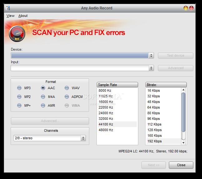 Soft4Boost Any Audio Record 4.4.9.305  – نرم افزار ضبط صدا با کامپیوتر