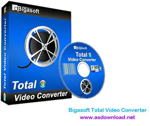 Bigasoft Total Video Converter 5.0.8.5809 -نرم افزار ویرایش فرمت فیلم