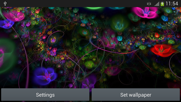 Fantasy Flowers Live Wallpaper-android