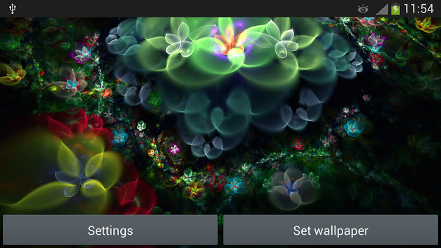 Fantasy Flowers Live Wallpaper android
