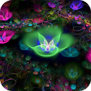 دانلود والپیپر زنده گل های فانتزی برای اندروید - Fantasy Flowers Live Wallpaper