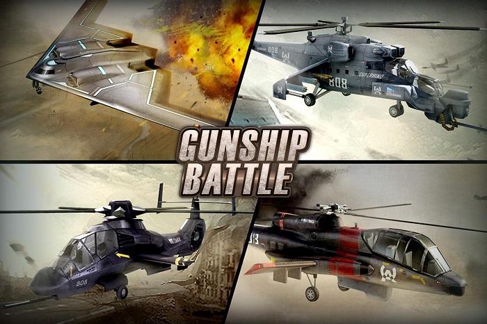 GUNSHIP BATTLE Helicopter 3D 2 1