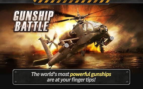 GUNSHIP BATTLE Helicopter 3D (3)