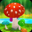 والپیپر زنده فوق العاده زیبا برای اندروید - Mushrooms 3D Live Wallpaper