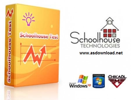 نرم افزار طراحی نمونه سئوالات امتحانی – Schoolhouse Test 4.1.0.11