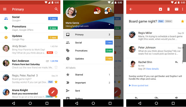Gmail APK for android