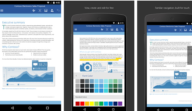 Microsoft Word 2016- for android