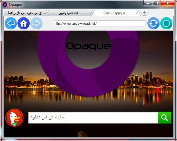 Opaque Browser 1.2 – مرورگر جدید به سبک گوگل کروم