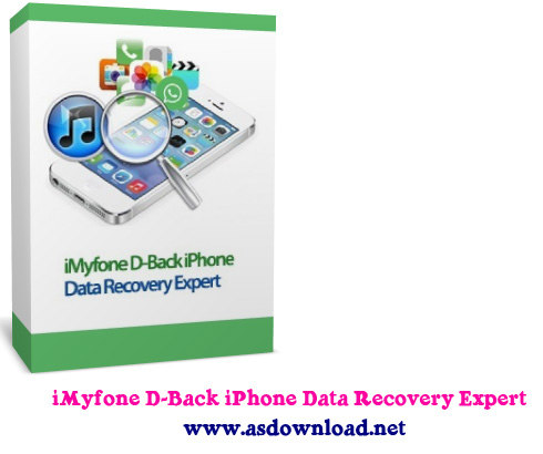 iMyfone D-Back iPhone Data Recovery Expert 3.6.5+serial - نرم افزار ریکاوری گوشی های آیفون