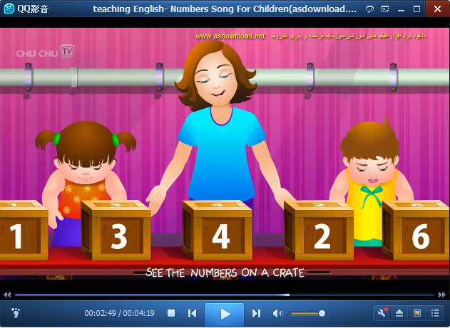 teaching English- Numbers Song For Children