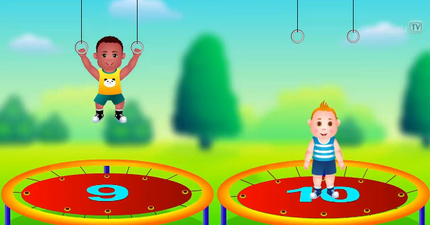 teaching English Numbers Song For Children