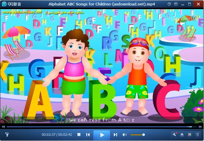 دانلود فیلم آموزش زبان انگلیسی برای کودکان- حروف الفبا