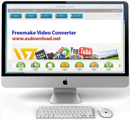 دانلود Freemake Video Converter v4.1.9.18 Gold+serial-نرم افزار تبدیل فرمت فیلم ها