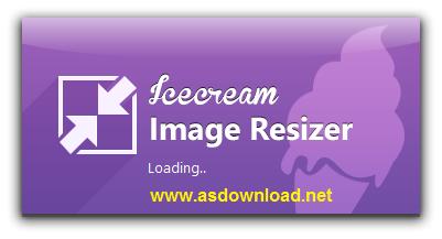 Icecream Image Resizer v1.36 - نرم افزار تغییر سایز عکس ها