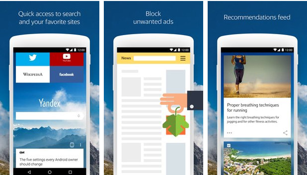 Yandex Browser for Android APK