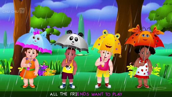 دانلود فیلم آموزش زبان انگلسی برای کودکان - باران باران