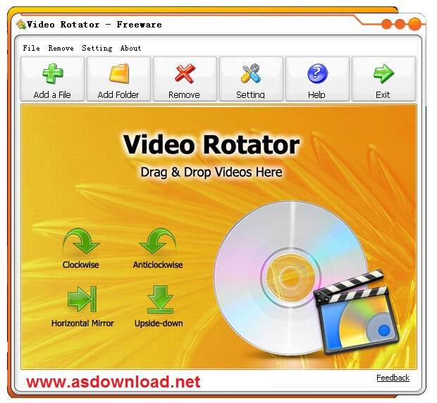 Video Rotator 3.0.1 + seria - نرم افزار چرخاندن ویدئو