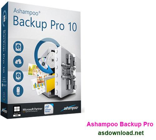 Ashampoo Backup Pro 10.00 - نرم افزار بکاپ گیری