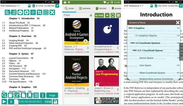 PDF Reader & Viewer.4.6.2 - دانلود نرم افزار pdf خوان اندروید