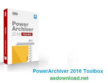 Power Archiver 2016 Toolbox 16.02.24 - دانلود نرم افزار فشرده سازی و رمزگذاری پیشرفته