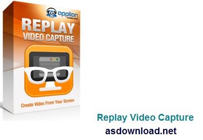 Replay Video Capture v8.5.1 - نرم افزار گرفتن فیلم از صفحه کامپیوتر