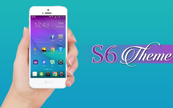 galaxy S6 Launcher and Theme 1.0.7 - تم لانچر گلکسی اس 6