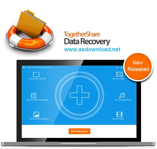TogetherShare Data Recovery 6.1.0 Professional - نرم افزار ریکاوری اطلاعات