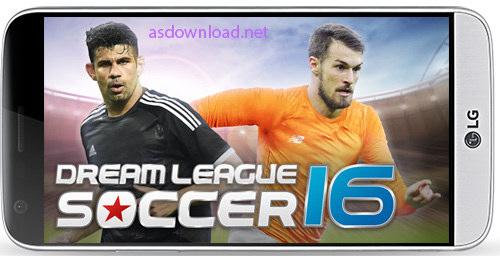 Dream League Soccer 2016 3.040 - بازی فوتبال رویایی برای اندروید + دیتا