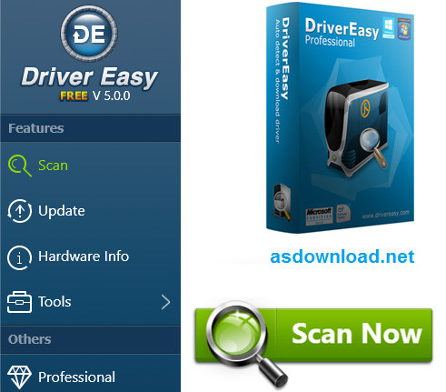 DriverEasy Professional 5.0.2.42137 - نرم افزار آپدیت درایورهای کامپیوتر