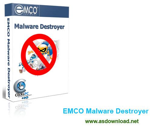 EMCO Malware Destroyer 7.7.10.1092 - دانلود نرم افزار حذف برنامه ها و بدافزارهای جاسوسی