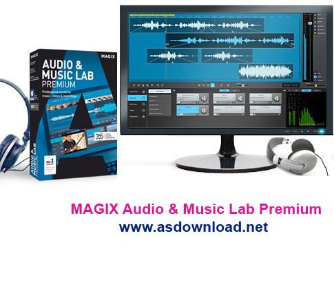 MAGIX Audio & Music Lab 2017 Premium 22.0.1.22 – دانلود استودیوی قدرتمند ویرایش موزیک