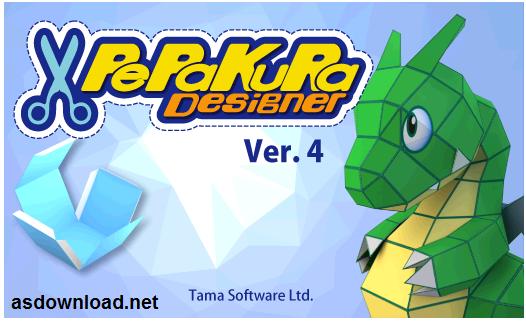 Pepakura Designer 4.0 - دانلود نرم افزار طراحی سه بعدی کارتونی