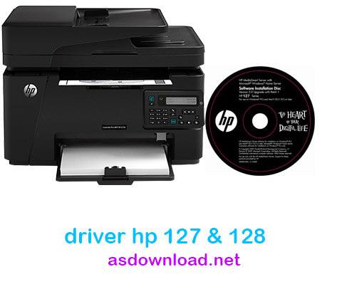 دانلود درایور پرینتر hp 127 برای ویندوز 10
