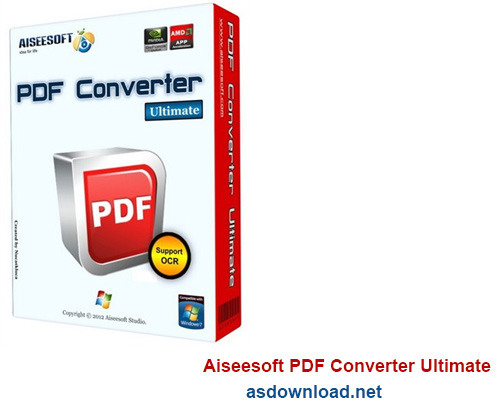 دانلود Aiseesoft PDF Converter Ultimate 3.3.6 - نرم افزار تبدیل PDF